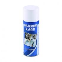 SILICONE E-400 PER GOMMA, PLASTICA  CUOIO ML.400