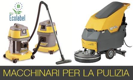 macchinari per la pulizia